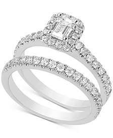 Diamond Bridal Set (1-1/3 ct. t.w.) in 14k White Gold