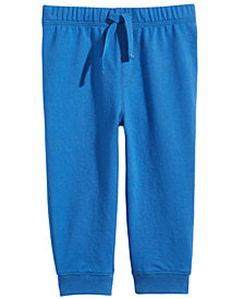 First Impressions Baby Boys Graphic-Print Jogger Pants, Created for Macy's