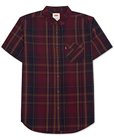 Levi's® Men's Short-Sleeve Plaid Shirt