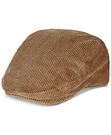 Men's Oversized Corduroy Ivy Hat