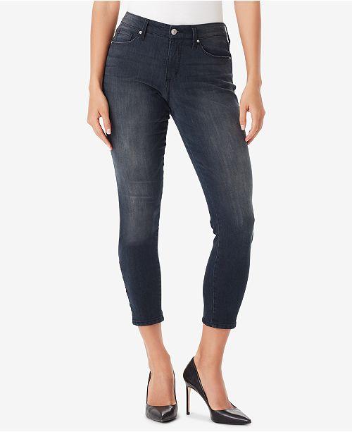 6519c47bcdb Vintage America Juniors  Wonderland Lattice Skinny Jeans  Vintage America  Juniors  Wonderland Lattice Skinny ...