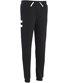 Calvin Klein Little Boys Side-Stripe Fleece Pants