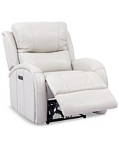 Incredible Leather Chair And Ottoman Macys Creativecarmelina Interior Chair Design Creativecarmelinacom