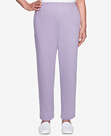 Alfred Dunner At Ease Pull-On Knit Pants