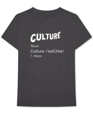 BRAVADO Migos Culture Definition Men'S Graphic T-Shirt in Black