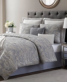 CLOSEOUT! Cosmo 10-Pc. Full Comforter Set