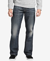 84214612057b96 Silver Jeans Co. Men's Gordie Loose-Fit Straight Jeans