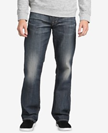 Silver Jeans Co. Men's Gordie Loose-Fit Straight Jeans