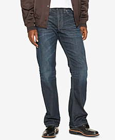 Silver Jeans Co. Mens Zac Straight-Fit Stretch Jeans