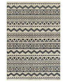 "Oriental Weavers Linden 7824A Grey/Blue 6'7"" x 9'6"" Area Rug"