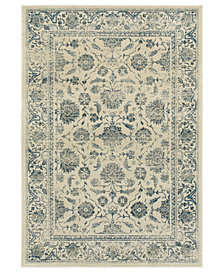 "Oriental Weavers Linden 7909A Ivory/Blue 6'7"" x 9'6"" Area Rug"