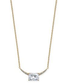 "Eliot Danori Cubic Zirconia Pendant Necklace, 16"" + 1"" extender, Created for Macy's"
