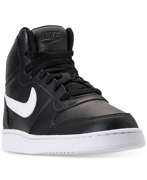 buy popular ed61d b2ac3 ... Nike Women s Ebernon Mid Casual Sneakers from Finish ...