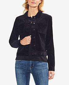 Vince Camuto Corduroy Button-Down Jacket