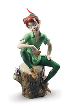 Lladró Peter Pan Figurine