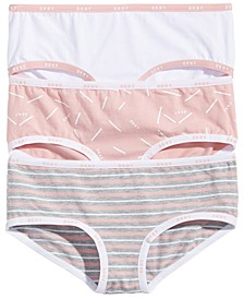 Little & Big Girls 3-Pk. Hipster Cotton Underwear