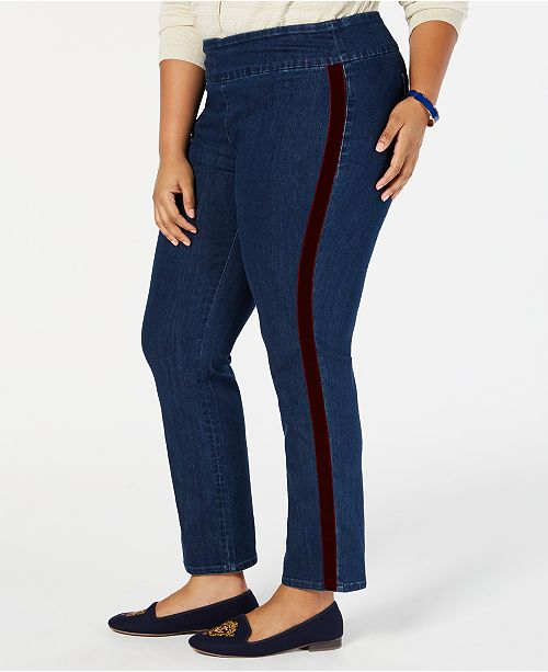 807b28c656795 Charter Club Plus Size Cambridge Tummy Control Jeans