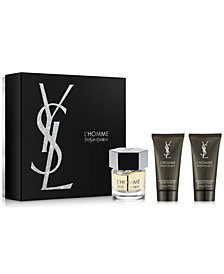 Yves Saint Laurent Men's 3-Pc. L'Homme Eau de Toilette Holiday Gift Set
