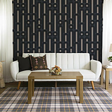 Tempaper Novogratz for Tempaper Wave Pop Self-Adhesive Wallpaper