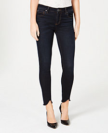 Kut from the Kloth Connie Uneven-Hem Jeans