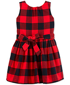 Carter's Toddler Girls Buffalo-Check Dress
