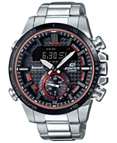 3a0c6bad031a G-Shock Men s Solar Analog-Digital Edifice Stainless Steel Bracelet Watch  49.2mm
