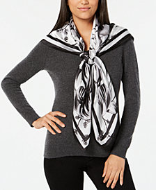Vince Camuto Hanabi Floral Oversized Square Scarf