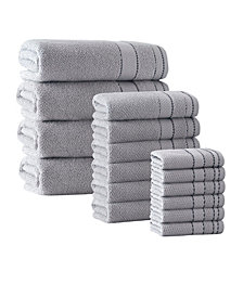 Enchante Home 16-Pc. Monroe Turkish Cotton Towel Set