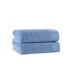 Signature 2-Pc. Bath Towels Turkish Cotton Towel Set