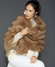 572d99599f09d The Fur Vault Knitted Mink Fur Hat   Reviews - The Fur Vault - Women ...