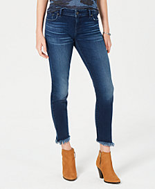 Lucky Brand Lolita Frayed Super-Skinny Jeans