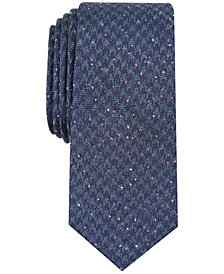 Bar III Men's Houndstooth Skinny Tie, Created for Macy's