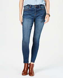 Style & Co Power Sculpt Curvy-Fit Skinny Jeans, Created for Macy's