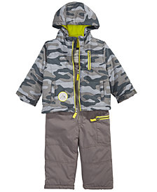 Carter's Baby Boys Hooded Camouflage Snowsuit