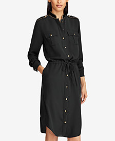 Lauren Ralph Lauren Georgette Shirtdress