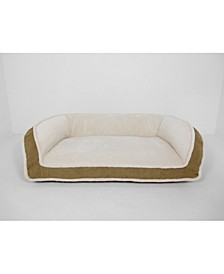 CLOSEOUT! Arlee Deep Seated Lounger Sofa and Couch Style Pet Bed, Large