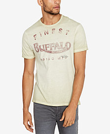 Buffalo David Bitton Men's Logo Print T-Shirt