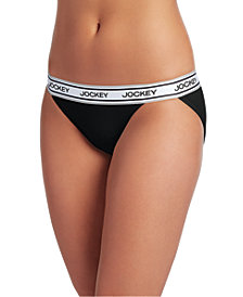 Jockey Retro Stripe String Bikini 2252, First at Macy's, also available in extended sizes