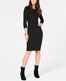MICHAEL Michael Kors Twisted Ribbed-Knit Dress