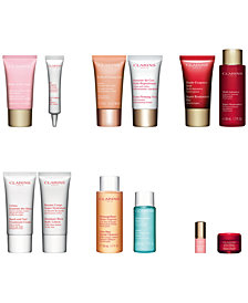 Choose 2 plant-infused duos to create your 4-pc Gift with $75 Clarins purchase (up to $78 Value)!