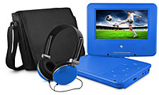 "Ematic 7"" Portable DVD Player"