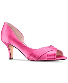 6c67dd4b7681ed Pink Bridal Shoes and Evening Shoes - Macy s
