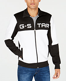G-Star RAW Men's Rodis Colorblocked Logo Track Jacket, Created for Macy's