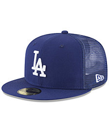 New Era Los Angeles Dodgers On-Field Mesh Back 59FIFTY Fitted Cap