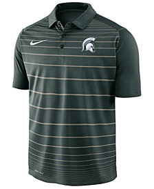 Nike Men's Michigan State Spartans Striped Polo