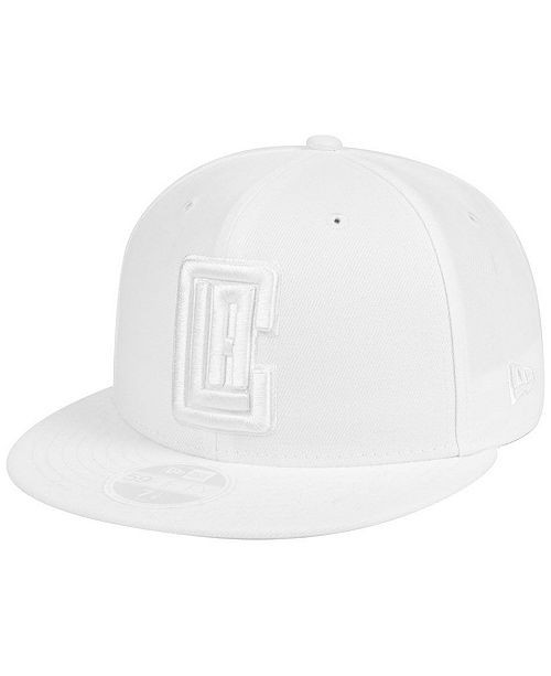 New Era Los Angeles Clippers Whiteout 59FIFTY FITTED Cap