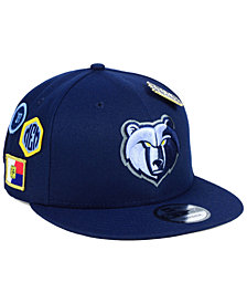 New Era Boys' Memphis Grizzlies On-Court Collection 9FIFTY Snapback Cap