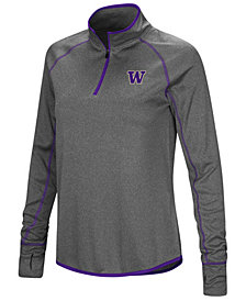 Colosseum Women's Washington Huskies Shark Quarter-Zip Pullover