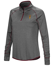 Colosseum Women's Arizona State Sun Devils Shark Quarter Zip Pullover