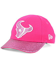 New Era Girls' Houston Texans Shimmer Shine Adjustable Cap